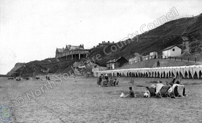Whitby bathing huts